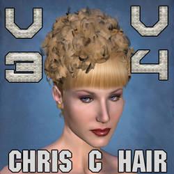Chris C Hair for V3 and V4 by mylochka