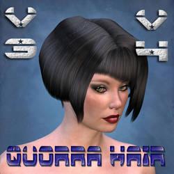 Quorra Hair for V4 V3 by mylochka