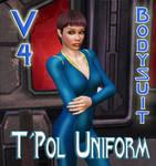 T'Pol Uniform for V4 Bodysuit