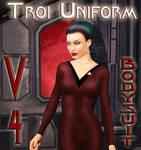 Troi Uniform for V4 Bodysuit