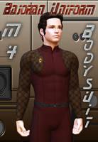 Bajoran Uniform for M4 Bodysuit by mylochka