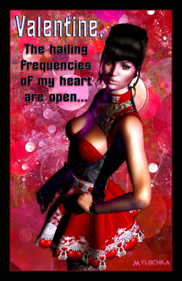 Lt. Uhura Valentine by mylochka
