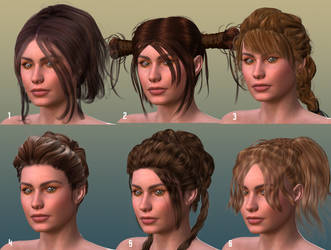 Hair Test for Ael by mylochka