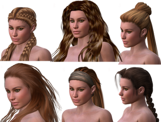 Hair Test for Ael 02 by mylochka