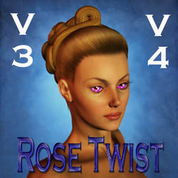 Rosetwist Hair for V3 and V4 by mylochka