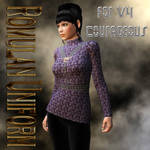 Romulan Uniform Textures for V4 Courageous