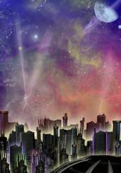 Colorful Nightlife by mylochka