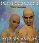 Klingon Textures for M4 an V4