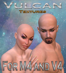 Vulcan Textures for V4 and M4 by mylochka