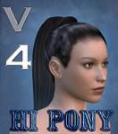 Hi Pony Hair for V4