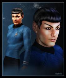 Trek XI Spock by mylochka