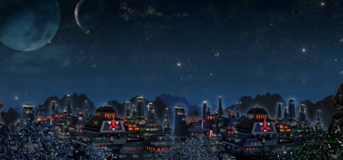 Klingon City Nitetime by mylochka