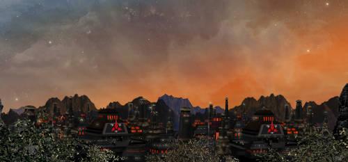 Klingon City Twilight by mylochka
