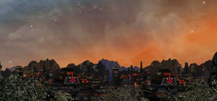 Klingon City Twilight
