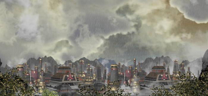 Klingon City Stormy Day