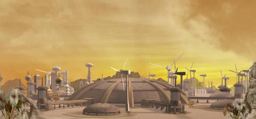 Vulcan City Midday by mylochka
