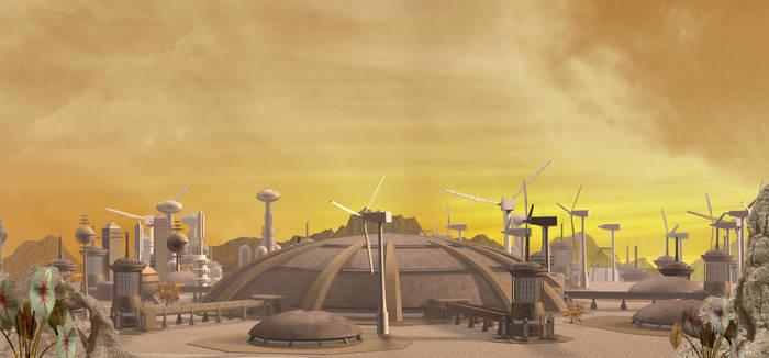 Vulcan City Midday