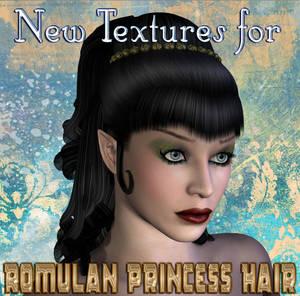 New Textures for Romulan Princess Hair