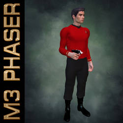 M3 Phaser Poses by mylochka