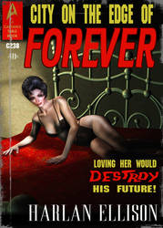 Edge of Forever Book cover by mylochka