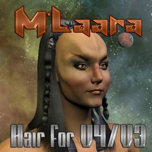 M'Laara Hair for V4/V3