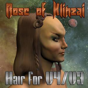 Rose of Klinzai Hair for V3/V4