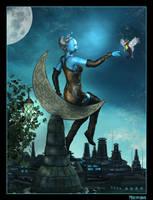 Blue Moon by mylochka