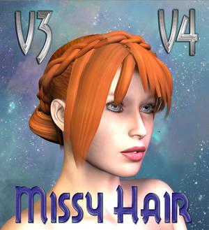 Missy Hair for V4 and V3