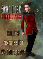 STO Admiral Uniforms for V4 Courageous by mylochka