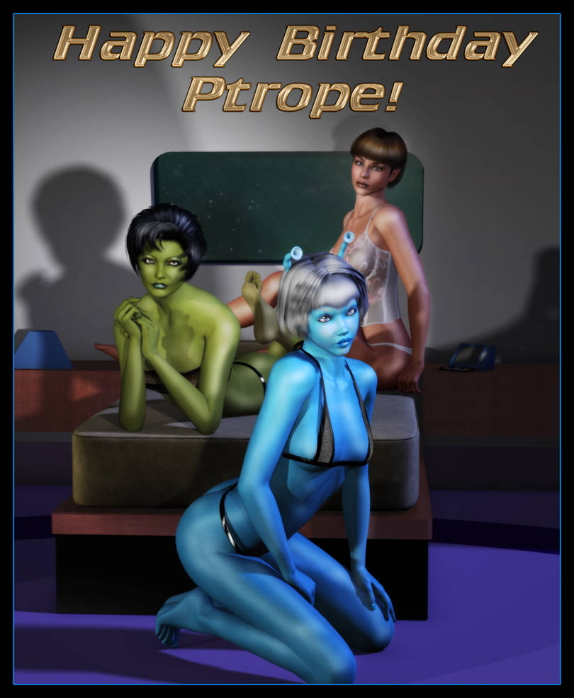 Happy Birthday, Ptrope! by mylochka