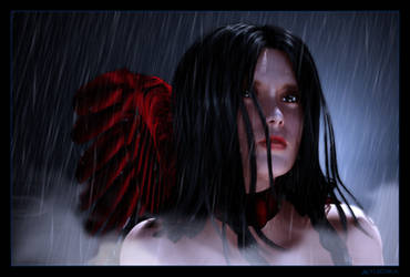Tears of a Scarlet Angel by mylochka