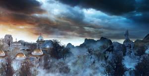 Federation City in Fog