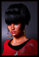 Uhura Portrait 04 by mylochka