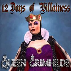 12 Days of Villainess -- Queen Grimhilde by mylochka