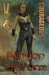 Klingon Uniform Texture for V4 Courageous by mylochka