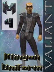 Klingon Uniform Texture for M4 by mylochka