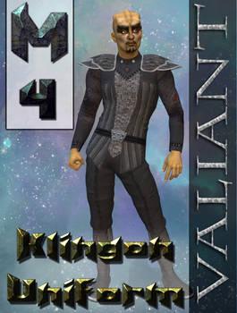 Klingon Uniform Texture for M4