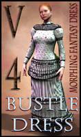 Bustle Dress Texture for Morphing Fantasy Dress
