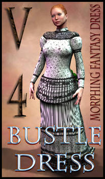 Bustle Dress Texture for Morphing Fantasy Dress