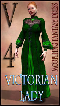 Victorian Lady Costume Textures for MFD