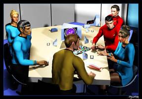 Ensign Gollub Explains by mylochka