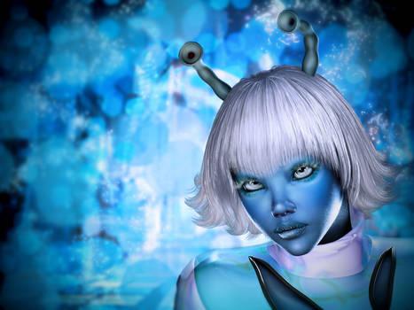 Blu Dream by mylochka
