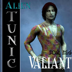 Alien Tunic Textures for M4 Valiant