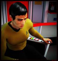 Sulu takes Command by mylochka