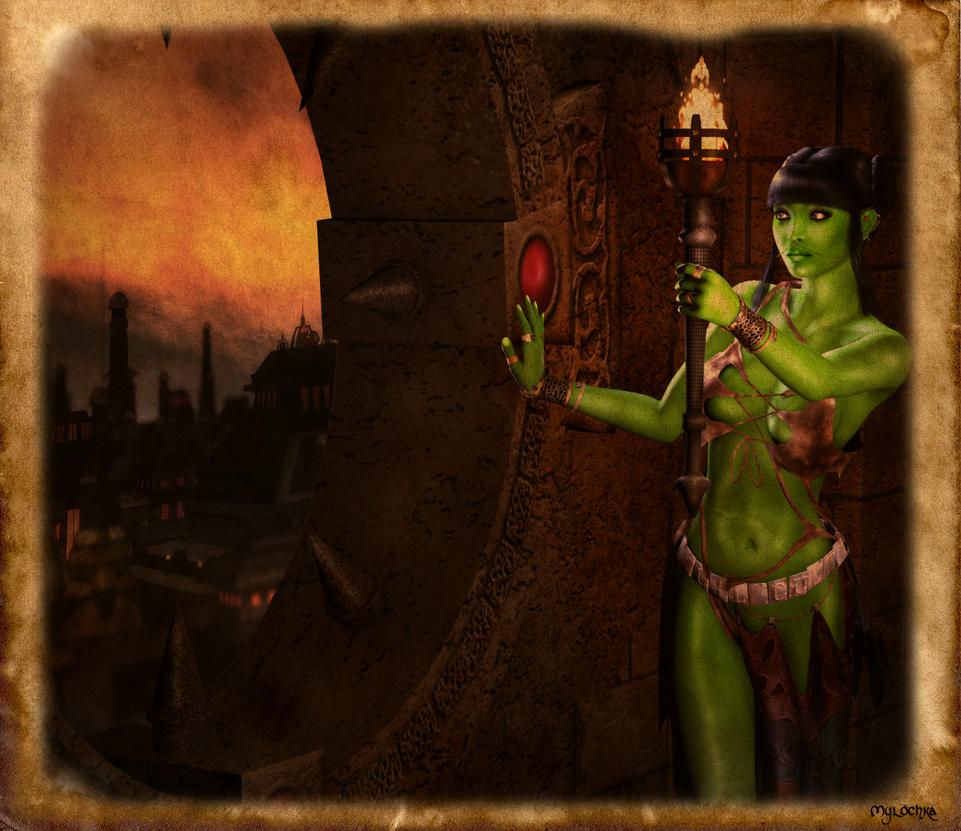 Legend of Shiara by mylochka