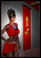 Mirror Uhura 01 by mylochka