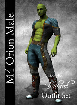 Orion Male Costume Textures for M4 Valiant