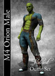 Orion Male Costume Textures for M4 Valiant by mylochka