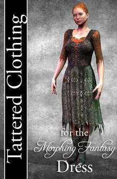 Tattered Clothing for Morphing Fantasy Dress
