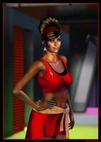 Mirror Uhura 02 by mylochka